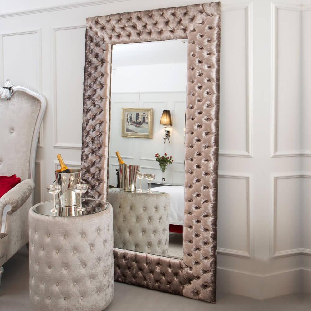 зеркала в каретной стяжке
