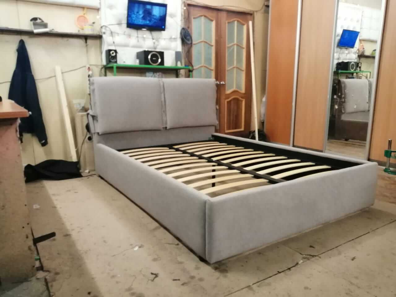 кровати с мягким изголовьем волгоград